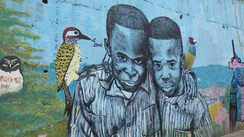 Medellin Graffiti Comuna 13 nr 10
