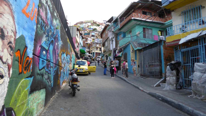 Comuna 13 in Medellin 1