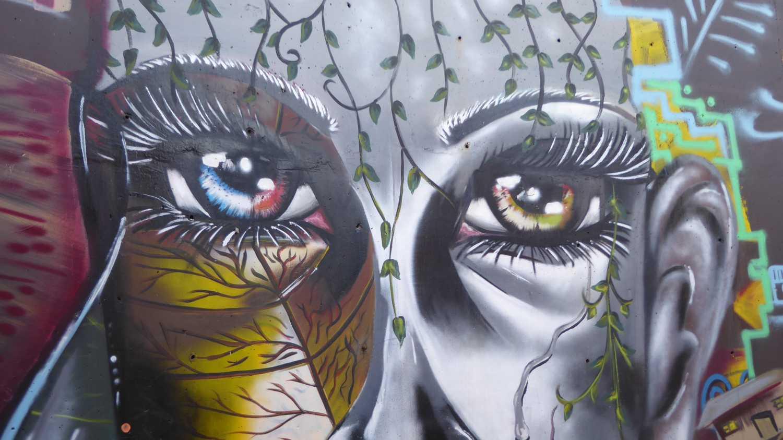 Medellin Graffiti Comuna 13 nr 1