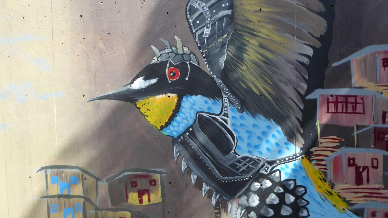 Medellin Graffiti Comuna 13 nr 2