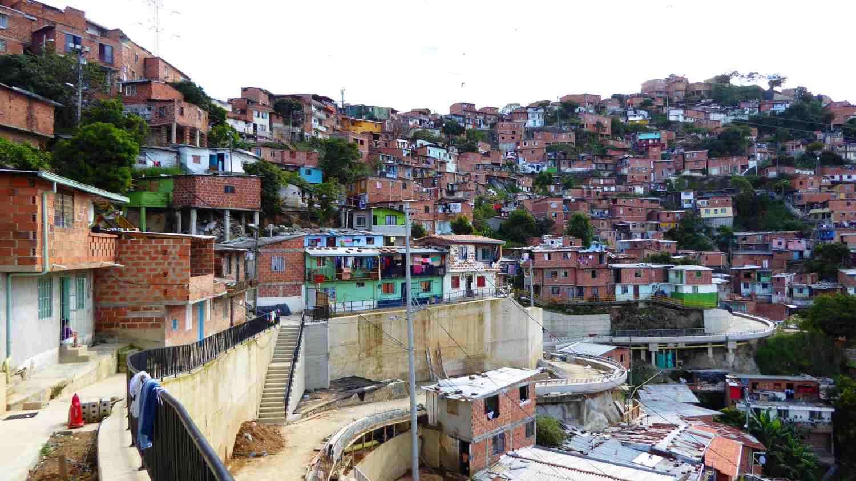 Houses in Comuna 13 in Medellin 2