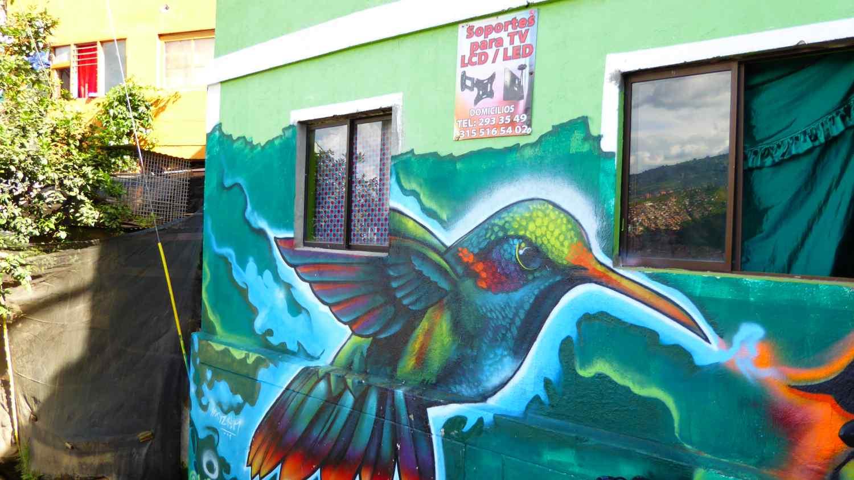 Medellin Graffiti Comuna 13 nr 5