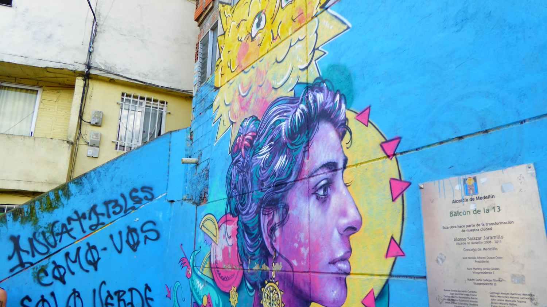 Medellin Graffiti Comuna 13 nr 7