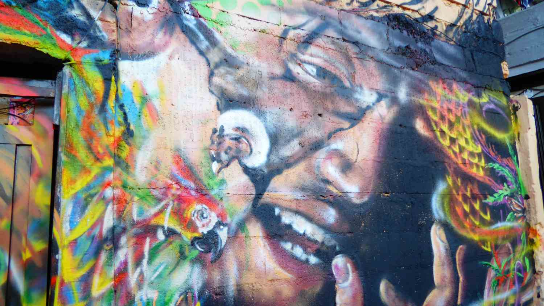 Medellin Graffiti Comuna 13 nr 8