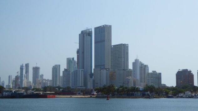 Cartagena Skyline 2