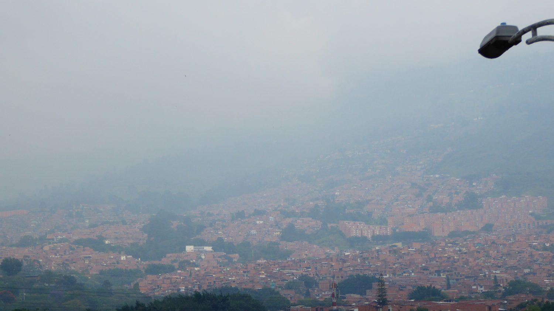 Smog over Medellin 2