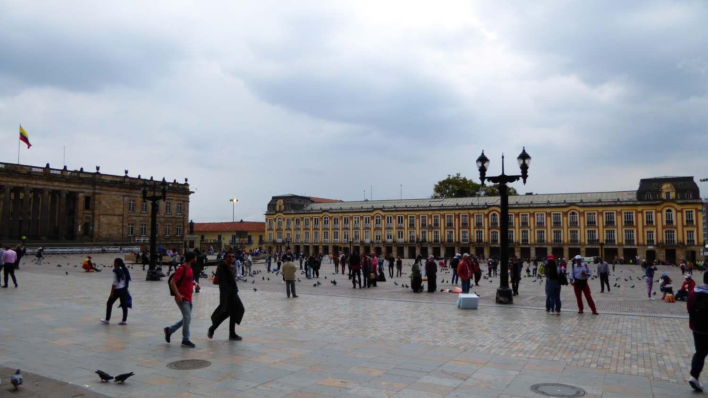 La Plaza Bolivar in Bogota 3