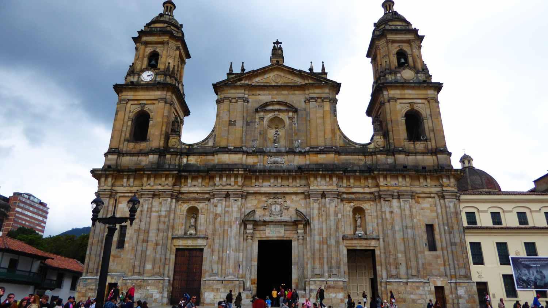 La Plaza Bolivar in Bogota 2