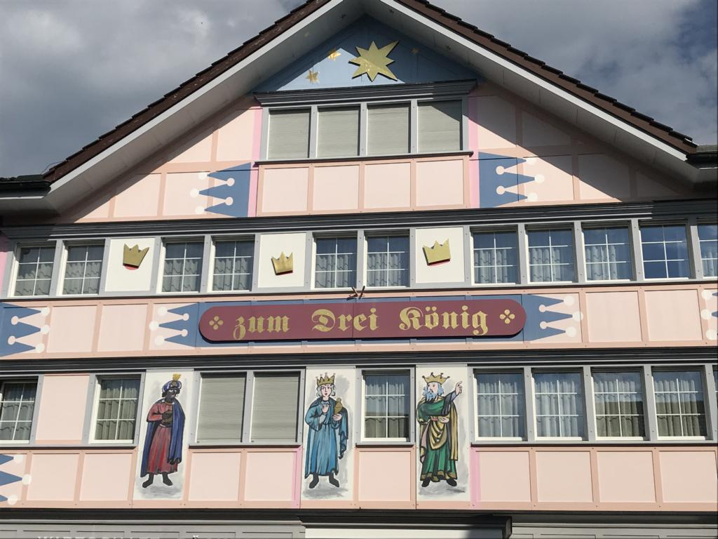 One of those wonderfully painted Houses in Appenzell