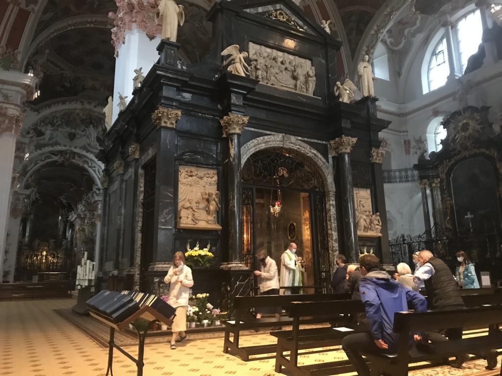 Mass in the church