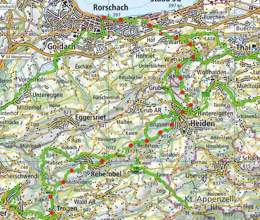 Stage 1: from Rorschach to Trogen
