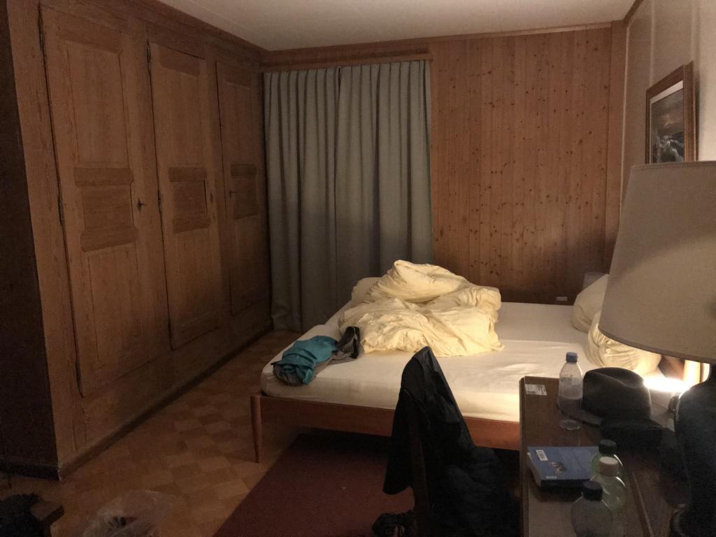Old fashioned hotel room in Signau