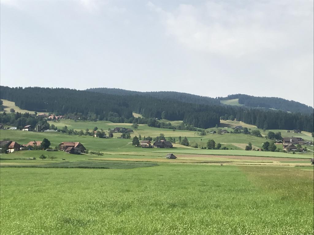 The wide valley near Signau
