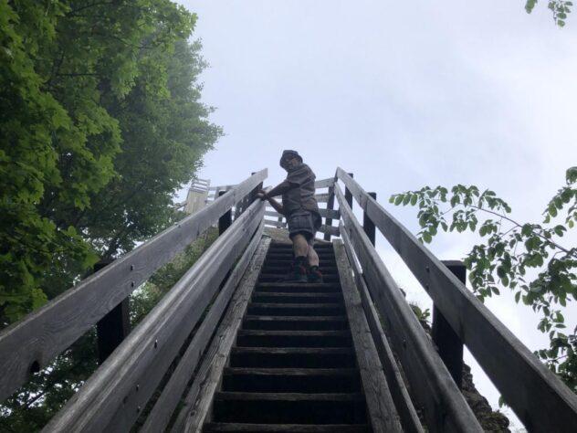 Stairs to Guggershörnli