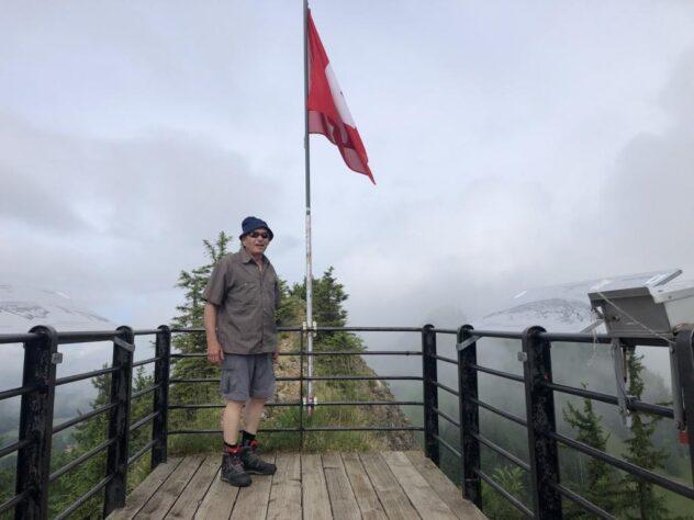 On top of the Guggershörnli