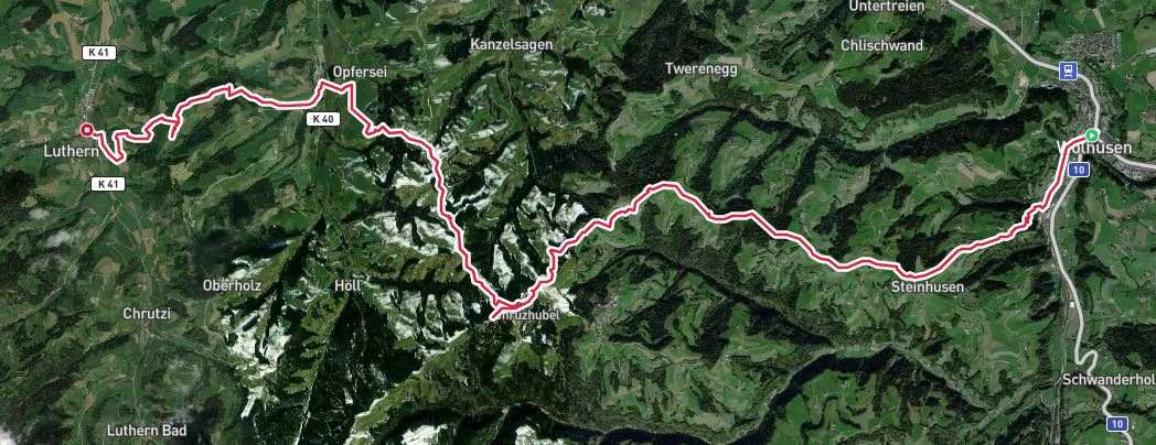 Alternative route to Luthern