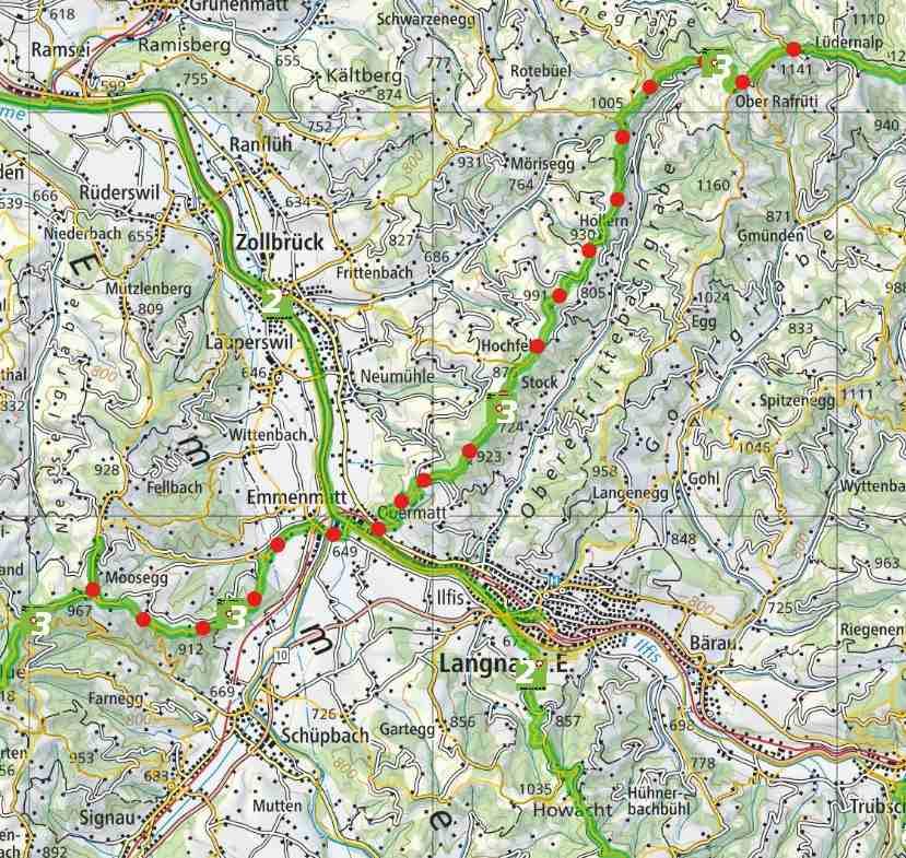 From Lüdernalp to Signau