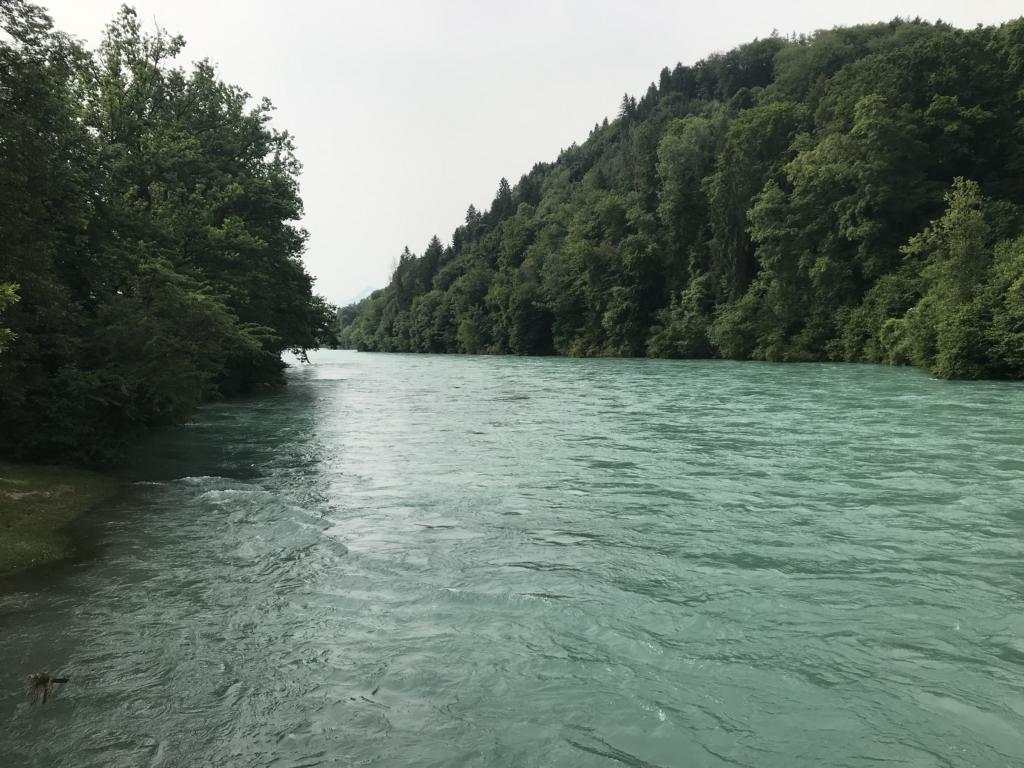 Crossing of the Aare