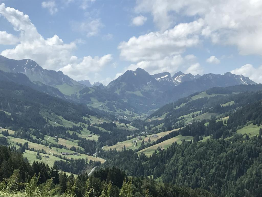 On the Way to the Schwarzsee