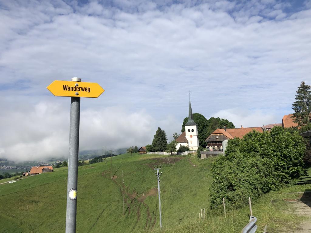 last view on Guggisberg