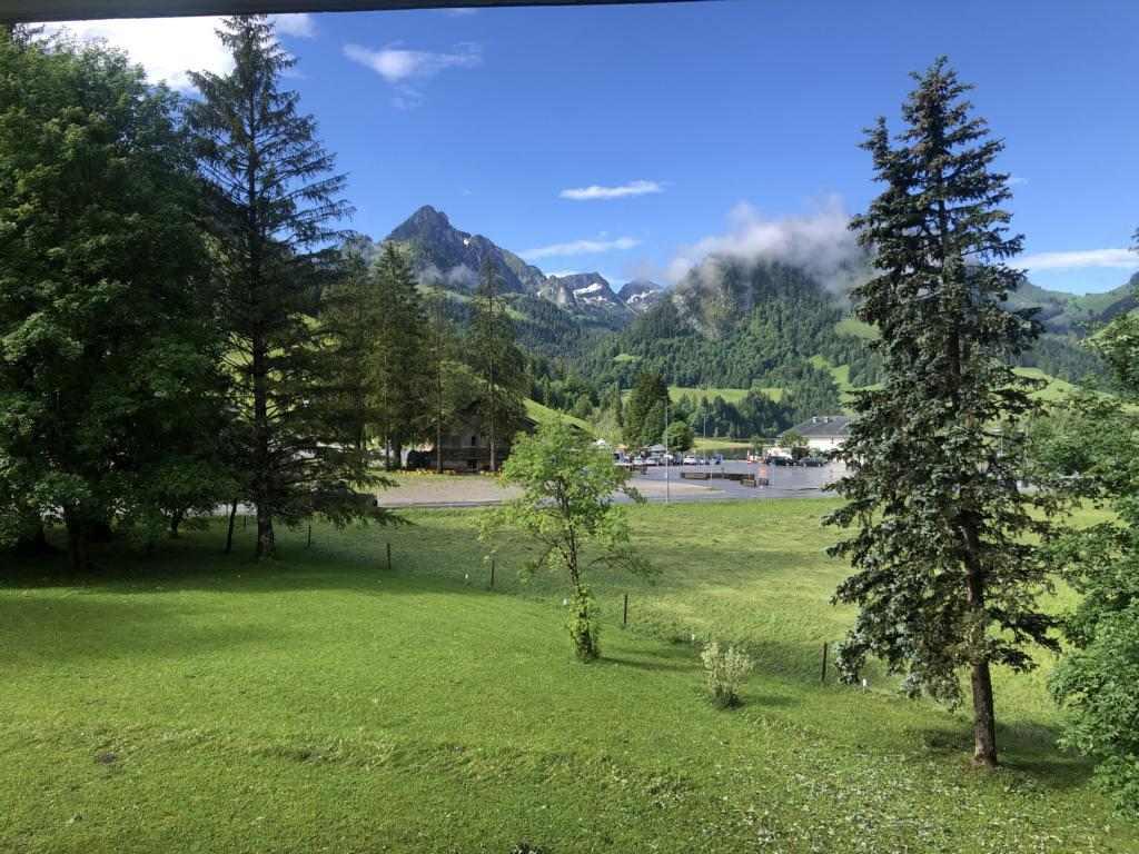 Sunny morning at the Schwazsee