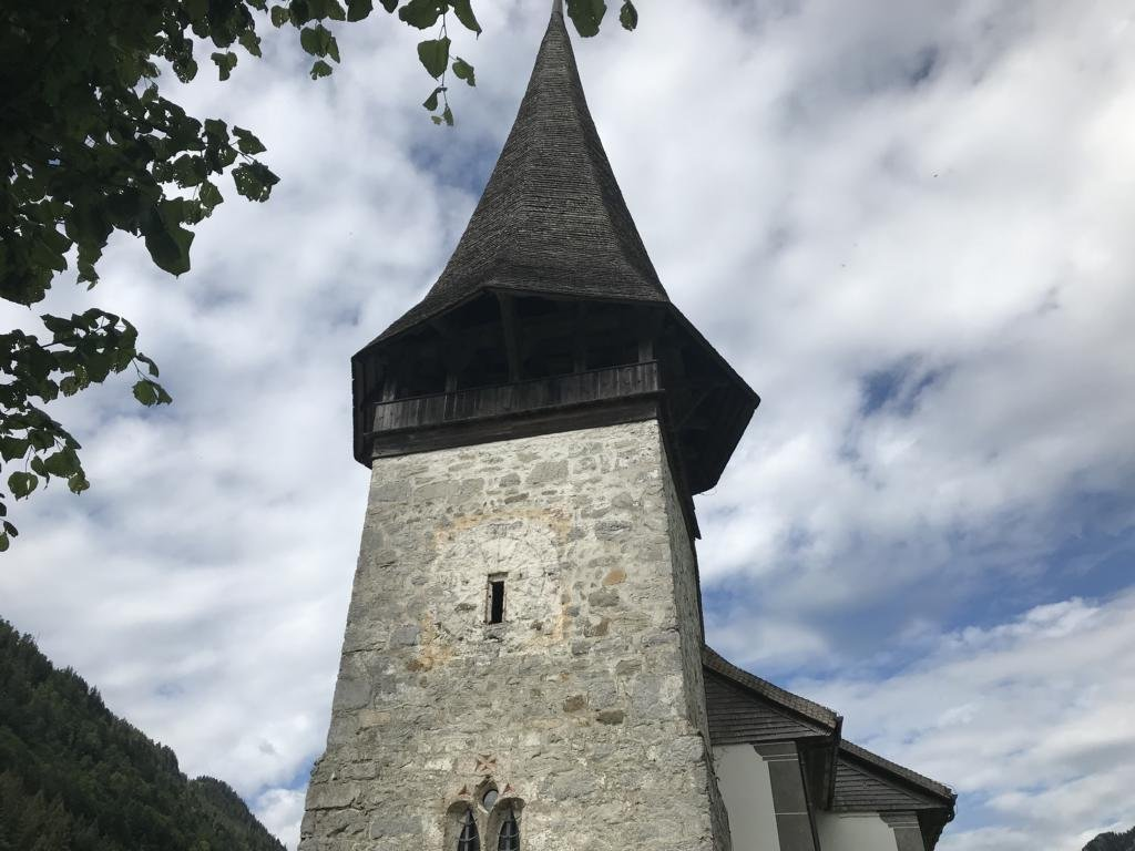 The old Church of Jaun