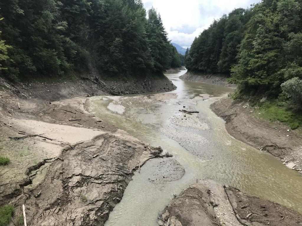 The Jaunbach - dirty river