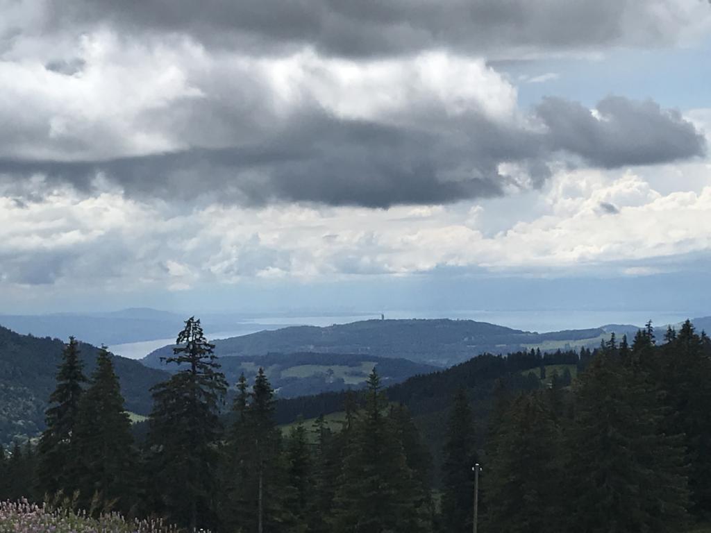 First glimpse of the Lake Geneva
